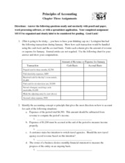 ACC HW APChapter3Assignments