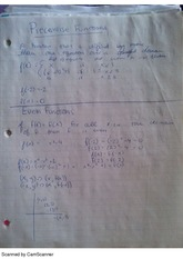 Piecewise Functions, class notes