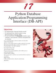 Python - Database Application Programming Interface.pdf