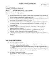 DCOM 258 Lab 11 Vulnerability &