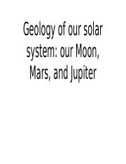 Geology of our solar system_Luther.pptx