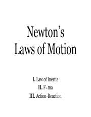 newtons_laws_of_motion unified