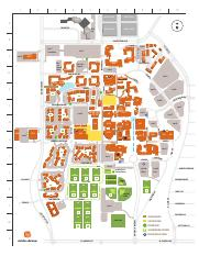 UTD Campus Map - A OSB SPN GUIDE TO COLOR-KEYED PARKING CM ...