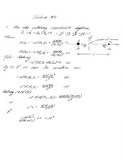 PHYS 4300 Homework and Solutions 9