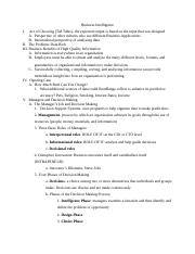 Business Information Systems Notes Chapter 5