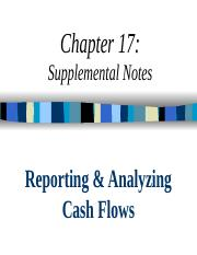 ACCT  1117 - Cash Flows (OH) - F2015.pptx