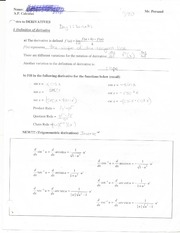 intro to derivatives 1a