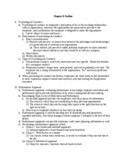 mgt ch. 8 outline