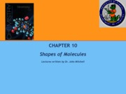 chapter 10Shapes of Molecules