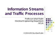 Section 8 Information Streams and Traffic Processes