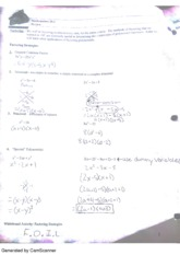 factoring and functions