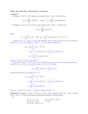 MATH 126 Fall 2014 Homework 6 Solutions