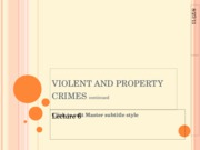 Violent and Property Crime 2