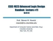 advanced logic design 17