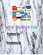 Foreign Retailers in India Team Presentation.pptx