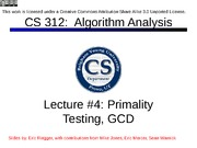 Lecture04-primality