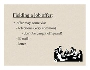 PPT - lecture_4a_Taking_the_Job_AnS_311_s11