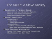 15.+The+South%2C+A+Slave+Society