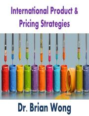 7. International Product & Pricing Strategies - Brian.pdf