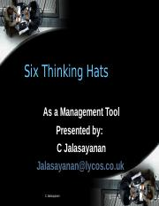 Six thinking hats - ASBM.ppt