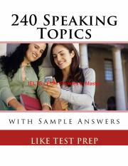 240 Speaking Topics with Sample Answers_1_