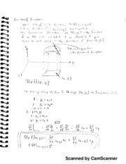 Calc 3 Notes, Directional Derivatives
