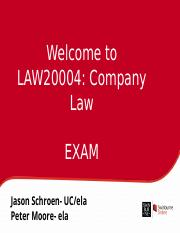 LAW20004 Exam collaborate