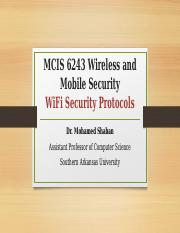 Lecture 6 - WiFi Security Protocols(1).pptx