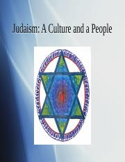 John Provost Lecture-Judaism