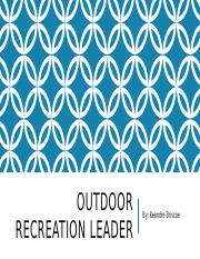 Outdoor Recreation.pptx