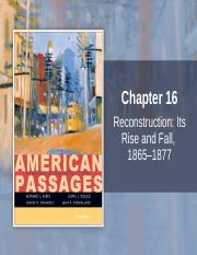 CH 16 Reconstruction revised.ppt