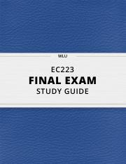pol 223 final exam