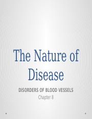 Disorders of blood vessels