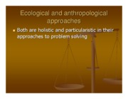 Microsoft PowerPoint - June 10-Ecological and anthropological responses