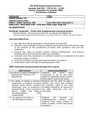 biol360 spring 2013 syllabus 1 Page 1 of 3 waukesha county technical college marketing and supervisory management department  business law 1 – spring 2013  course syllabus instructor:.