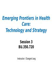 Session3 - Activity System and EHR Introduction