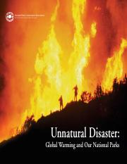 unnatural disaster coal
