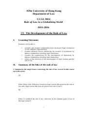 07 Development of the Rule of Law.docx