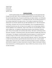 A life full of feeling essay