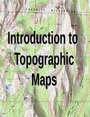 Lab 1 - Topographic map intro.ppt