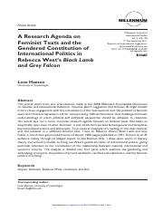 Millennium - Journal of International Studies-2011-Hansen-109-28(1)