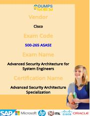How To Pass 500-265 Cisco ASAS Exam In First Attempt?