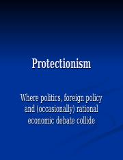 protectionism.ppt