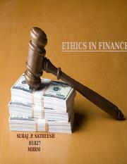 ethics in Finance.ppt