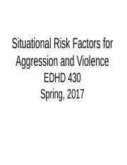 EDHD 430 Situational Factors Spring 2017revised (1)
