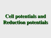 cell-potential
