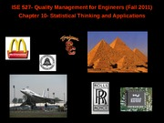 quality management for engineers_chapter10