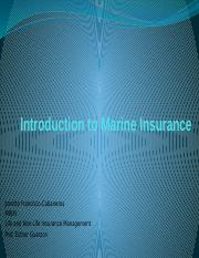 Introduction to Marine Insurance.pptx