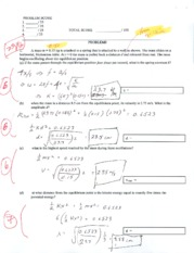 physics 2 practice exam 1 - PROBLEM SCORE 1 x 25 2 x 25 3/25