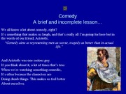 COMEDY Lesson Powerpoint Revised Again(1)